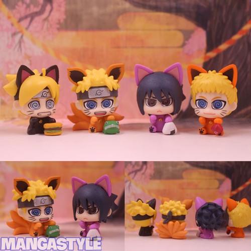 Bộ mô hình Naruto neko