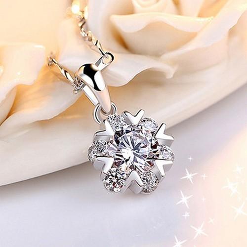 Dây chuyền nữ  bạc 925 Silver đính đá mặt tròn - Phong cách Hàn Quốc - 8944426 , 18565170 , 15_18565170 , 150000 , Day-chuyen-nu-bac-925-Silver-dinh-da-mat-tron-Phong-cach-Han-Quoc-15_18565170 , sendo.vn , Dây chuyền nữ  bạc 925 Silver đính đá mặt tròn - Phong cách Hàn Quốc