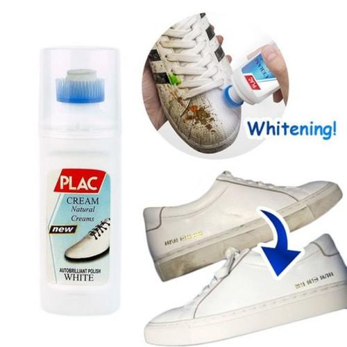 Chai tẩy trắng giày dép túi xách đồ da PLAC Có đầu chổi