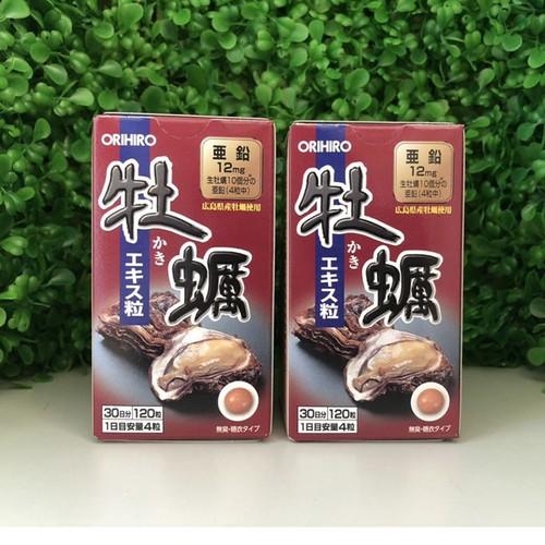 Viên uống tinh chất hàu tươi Nhật Bản Orihiro 120 viên - 8935455 , 18553041 , 15_18553041 , 580000 , Vien-uong-tinh-chat-hau-tuoi-Nhat-Ban-Orihiro-120-vien-15_18553041 , sendo.vn , Viên uống tinh chất hàu tươi Nhật Bản Orihiro 120 viên