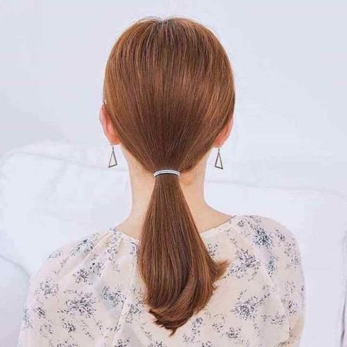 Hộp 100 dây buộc tóc cho bạn gái
