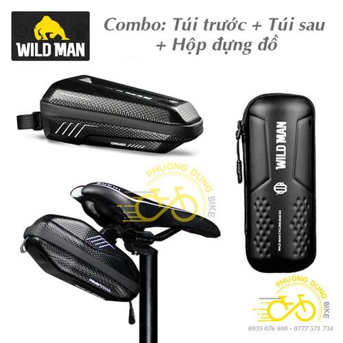 Combo 3 món : Túi treo khung trước, túi treo yên sau, hộp đựng đồ nghề xe đạp Wild Man - 8950452 , 18574046 , 15_18574046 , 400000 , Combo-3-mon-Tui-treo-khung-truoc-tui-treo-yen-sau-hop-dung-do-nghe-xe-dap-Wild-Man-15_18574046 , sendo.vn , Combo 3 món : Túi treo khung trước, túi treo yên sau, hộp đựng đồ nghề xe đạp Wild Man