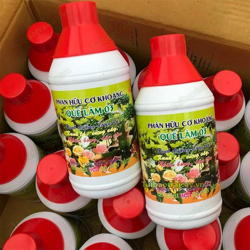 Phân bón hữu cơ dinh dưỡng đồng bộ, xanh lá, cứng cây, nhiều bông, lâu tàn-Phân bón Quế Lâm 1 lít - 8947425 , 18569641 , 15_18569641 , 40000 , Phan-bon-huu-co-dinh-duong-dong-bo-xanh-la-cung-cay-nhieu-bong-lau-tan-Phan-bon-Que-Lam-1-lit-15_18569641 , sendo.vn , Phân bón hữu cơ dinh dưỡng đồng bộ, xanh lá, cứng cây, nhiều bông, lâu tàn-Phân bón Quế
