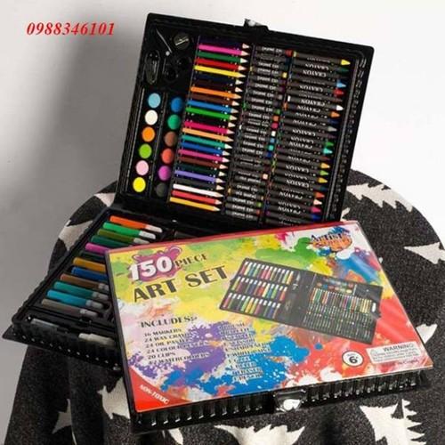 Hộp bút chì màu 86 món cho bé