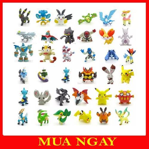 Bộ tượng thú Pokemon 24 con