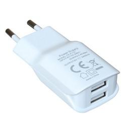 Cốc sạc nhanh đa năng cutePad TX-P113 Trắng. Cốc sạc 2 cổng sạc USB