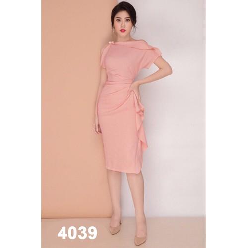 Đầm body hồng eo nhún bèo - 8944711 , 18565488 , 15_18565488 , 420000 , Dam-body-hong-eo-nhun-beo-15_18565488 , sendo.vn , Đầm body hồng eo nhún bèo