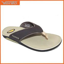 Dép kẹp nam hiệu Vento mã số VT8003Br màu nâu quai da