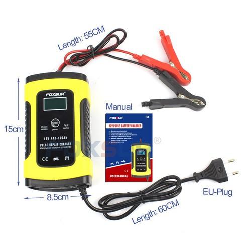 Bộ sạc điện acquy FOXSUR 12V 5A kèm phục hồi bình - 11655253 , 18576424 , 15_18576424 , 255000 , Bo-sac-dien-acquy-FOXSUR-12V-5A-kem-phuc-hoi-binh-15_18576424 , sendo.vn , Bộ sạc điện acquy FOXSUR 12V 5A kèm phục hồi bình