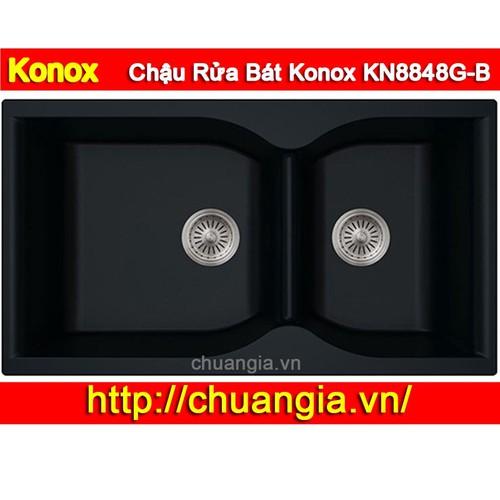 Chậu Rửa Bát Konox KN8848G-B - 8934822 , 18552152 , 15_18552152 , 7000000 , Chau-Rua-Bat-Konox-KN8848G-B-15_18552152 , sendo.vn , Chậu Rửa Bát Konox KN8848G-B