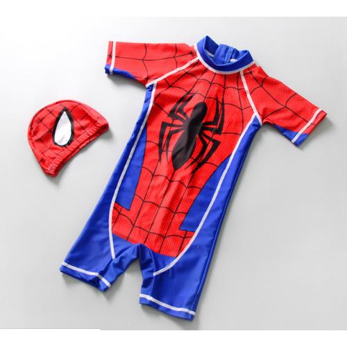 Bộ đồ bơi liền thân siêu nhân người nhện cho bé trai - 8951501 , 18575667 , 15_18575667 , 200000 , Bo-do-boi-lien-than-sieu-nhan-nguoi-nhen-cho-be-trai-15_18575667 , sendo.vn , Bộ đồ bơi liền thân siêu nhân người nhện cho bé trai