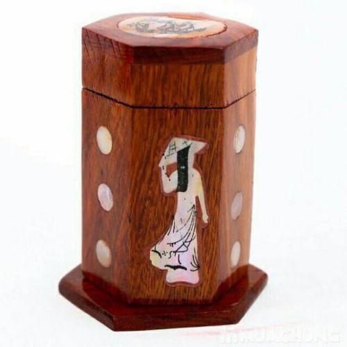 Hộp đựng tăm gỗ hình cô gái - 8951780 , 18575983 , 15_18575983 , 45000 , Hop-dung-tam-go-hinh-co-gai-15_18575983 , sendo.vn , Hộp đựng tăm gỗ hình cô gái