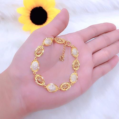 Lắc tay nữ thỏi vàng dát vàng 18k mã 112 - 8941906 , 18561899 , 15_18561899 , 269000 , Lac-tay-nu-thoi-vang-dat-vang-18k-ma-112-15_18561899 , sendo.vn , Lắc tay nữ thỏi vàng dát vàng 18k mã 112