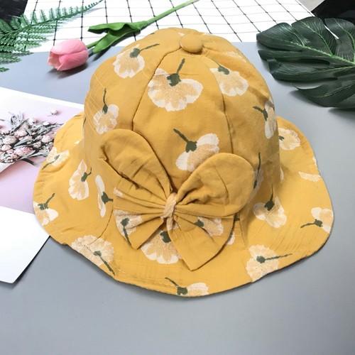 Mũ cho bé gái hoa bồ công anh