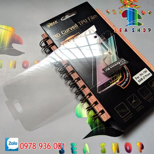 [SEASHOP] Tấm dán dẻo TPU Samsung Galaxy J7 Prime - G610 full màn hình VMAX