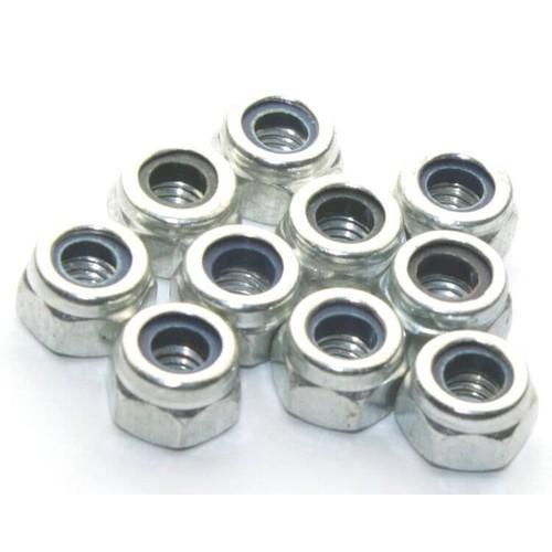 Ốc tán M6 - đai ốc chống trượt  - lock nut