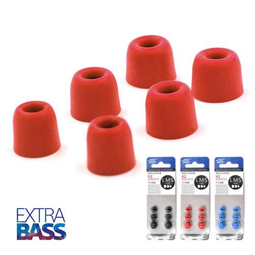 Bộ nút tai nghe bọt biển hiệu KZ  [3 cặp size S M L] siêu cách âm, tăng bass - 8944552 , 18565315 , 15_18565315 , 79000 , Bo-nut-tai-nghe-bot-bien-hieu-KZ-3-cap-size-S-M-L-sieu-cach-am-tang-bass-15_18565315 , sendo.vn , Bộ nút tai nghe bọt biển hiệu KZ  [3 cặp size S M L] siêu cách âm, tăng bass