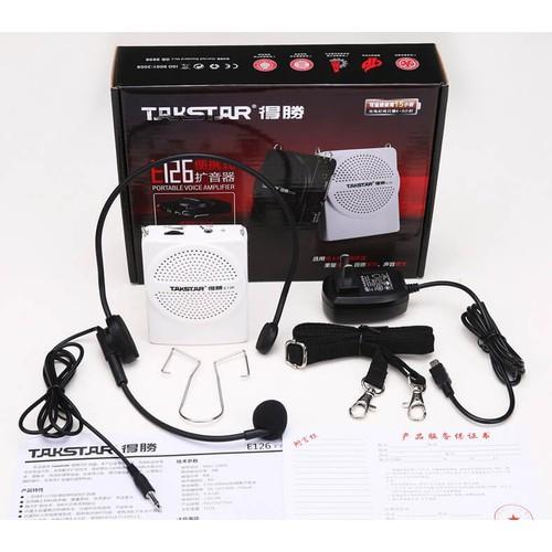 Máy trợ giảng Takstar E126 có dây - 8936213 , 18553885 , 15_18553885 , 415000 , May-tro-giang-Takstar-E126-co-day-15_18553885 , sendo.vn , Máy trợ giảng Takstar E126 có dây
