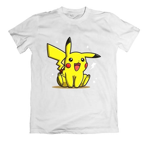 Áo thun in hình pikachu siêu đẹp