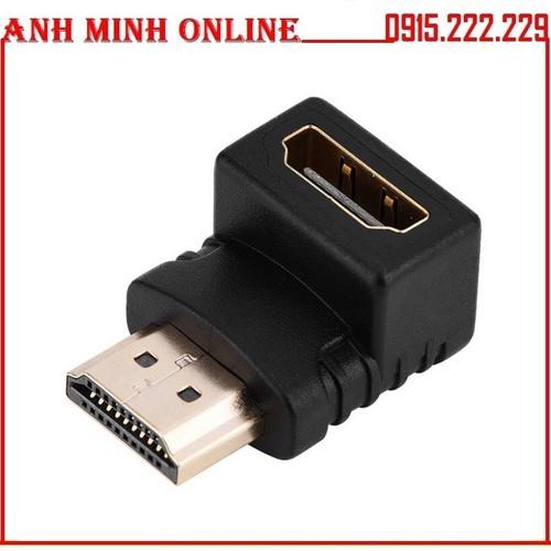02 Đầu nối HDMI đổi góc chữ L 1 đầu âm 1 đầu dương - 11654643 , 18569473 , 15_18569473 , 50000 , 02-Dau-noi-HDMI-doi-goc-chu-L-1-dau-am-1-dau-duong-15_18569473 , sendo.vn , 02 Đầu nối HDMI đổi góc chữ L 1 đầu âm 1 đầu dương