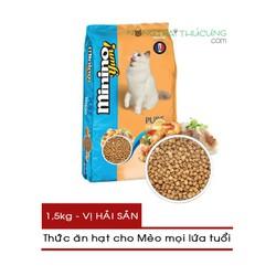 Thức ăn hạt cho Mèo - Minino Yum 1.5kg