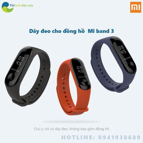 Dây đeo cao su thời trang cho đồng hồ thông minh Xiaomi Miband 3 - shop Thế giới điện máy - 8948396 , 18570962 , 15_18570962 , 89000 , Day-deo-cao-su-thoi-trang-cho-dong-ho-thong-minh-Xiaomi-Miband-3-shop-The-gioi-dien-may-15_18570962 , sendo.vn , Dây đeo cao su thời trang cho đồng hồ thông minh Xiaomi Miband 3 - shop Thế giới điện máy
