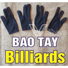 Bao tay, găng tay câu lạc bộ bi da, billiards. gói 20 cái - BT BIDA