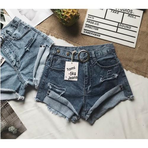 quần short jean kiểu