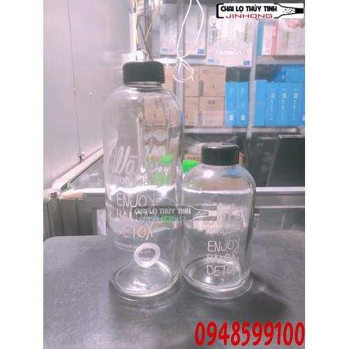 Bình Nước Thủy Tinh Detox Đẹp Water Pongdang Trong Suốt 600ml - 8951346 , 18575272 , 15_18575272 , 69000 , Binh-Nuoc-Thuy-Tinh-Detox-Dep-Water-Pongdang-Trong-Suot-600ml-15_18575272 , sendo.vn , Bình Nước Thủy Tinh Detox Đẹp Water Pongdang Trong Suốt 600ml