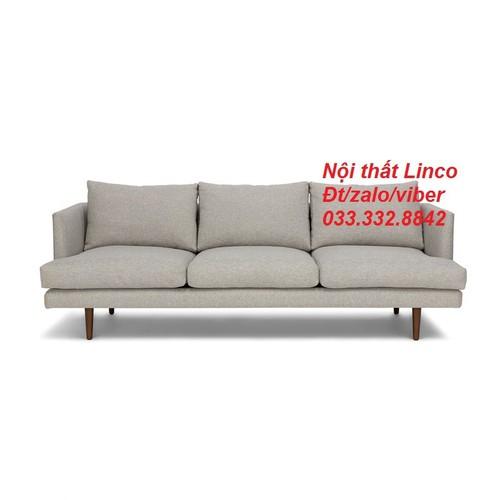 PK - Ghế sofa băng xám trắng AL3 1m9, bộ sofa, salon phòng khách 1m9, bộ bàn ghế phòng khách, sopha, sô pha