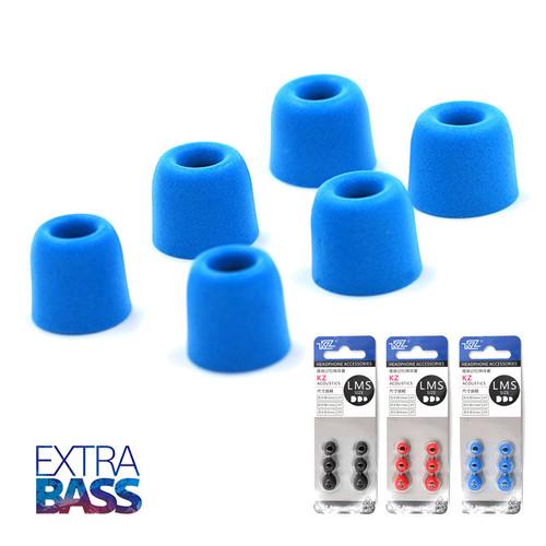 Bộ nút tai nghe bọt biển hiệu KZ  [3 cặp size S M L] siêu cách âm, tăng bass - 8944667 , 18565440 , 15_18565440 , 79000 , Bo-nut-tai-nghe-bot-bien-hieu-KZ-3-cap-size-S-M-L-sieu-cach-am-tang-bass-15_18565440 , sendo.vn , Bộ nút tai nghe bọt biển hiệu KZ  [3 cặp size S M L] siêu cách âm, tăng bass