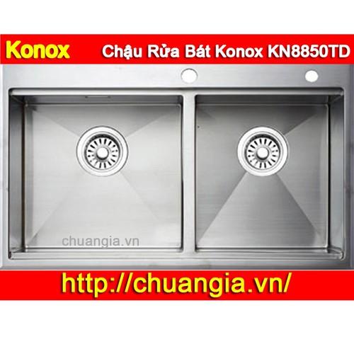 Chậu Rửa Bát Konox KN8850TD - 8934549 , 18551837 , 15_18551837 , 7000000 , Chau-Rua-Bat-Konox-KN8850TD-15_18551837 , sendo.vn , Chậu Rửa Bát Konox KN8850TD