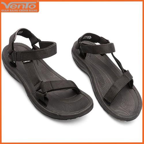 Giày sandal nam hiệu Vento mã số NV25B màu đen quai dù