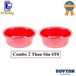 Combo 2 Thau Nhựa Sâu 4T0 Duy Tân Phi 39 x 13 cm No.H049