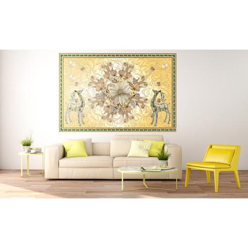 tranh treo tường - tranh con hươu tài lộc- 1085426
