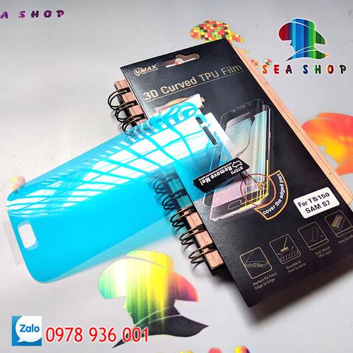 [SEASHOP] Tấm dán dẻo TPU Samsung Galaxy S7 - G930 full màn hình hiệu VMAX