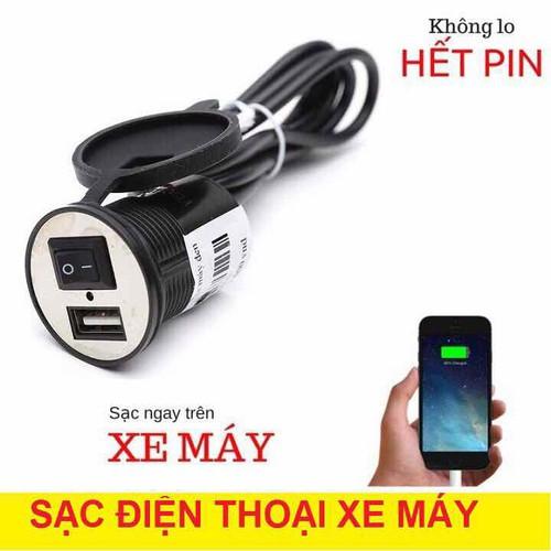 Sạc điện thoại dùng cho xe máy - 11655237 , 18576140 , 15_18576140 , 79000 , Sac-dien-thoai-dung-cho-xe-may-15_18576140 , sendo.vn , Sạc điện thoại dùng cho xe máy