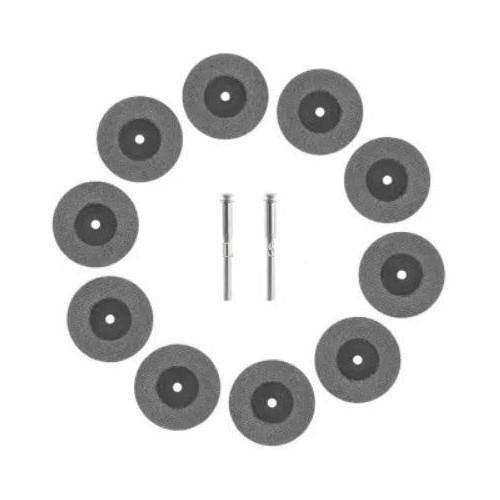 Bộ 10 Lưỡi Cưa Đĩa Cắt Kim Cương Mini đường kính 20mm + trục 3.0mm - 8940437 , 18560188 , 15_18560188 , 105000 , Bo-10-Luoi-Cua-Dia-Cat-Kim-Cuong-Mini-duong-kinh-20mm-truc-3.0mm-15_18560188 , sendo.vn , Bộ 10 Lưỡi Cưa Đĩa Cắt Kim Cương Mini đường kính 20mm + trục 3.0mm