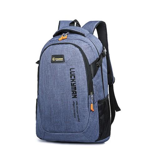 Ba lô laptop thời trang tiện dụng - màu xanh