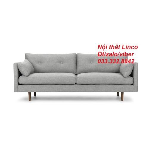 PK - Ghế sofa băng xám AL6 1m9, bộ sofa, salon phòng khách 1m9, bộ bàn ghế phòng khách, sopha, sô pha