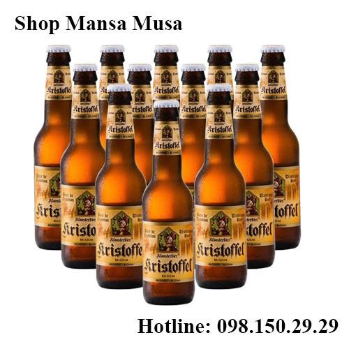 bia Kristoffel Blond 330ml thùng 12 chai