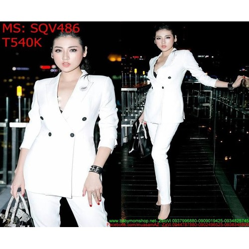 Sét áo kiểu vest dài tay và quần baggy sành điệu SQV486 - 7634874 , 18557338 , 15_18557338 , 540000 , Set-ao-kieu-vest-dai-tay-va-quan-baggy-sanh-dieu-SQV486-15_18557338 , sendo.vn , Sét áo kiểu vest dài tay và quần baggy sành điệu SQV486