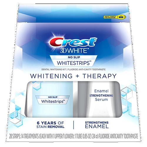 Bộ Sản Phẩm Tẩy Trắng Răng Kèm Serum Crest 3D White Whitening + Therapy liệu trình 14 ngày