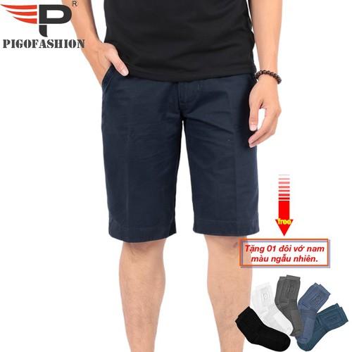 Quần short kaki nam cao cấp PSK01 màu xanh đen - tặng kèm 1 đôi vớ - 8945648 , 18566982 , 15_18566982 , 299000 , Quan-short-kaki-nam-cao-cap-PSK01-mau-xanh-den-tang-kem-1-doi-vo-15_18566982 , sendo.vn , Quần short kaki nam cao cấp PSK01 màu xanh đen - tặng kèm 1 đôi vớ