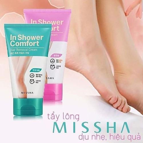 Kem Tẩy Lông Mis sha In Shower Comfort 100g