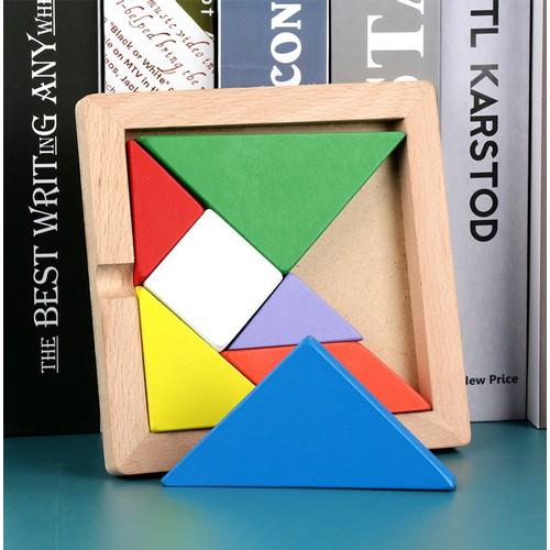 Bộ đồ chơi Xếp hình bằng gỗ