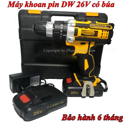 Máy khoan búa DW26V-Máy khoan vặn vít dùng pin DW 26V 2 pin sạc liion - 8956600 , 18583147 , 15_18583147 , 1500000 , May-khoan-bua-DW26V-May-khoan-van-vit-dung-pin-DW-26V-2-pin-sac-liion-15_18583147 , sendo.vn , Máy khoan búa DW26V-Máy khoan vặn vít dùng pin DW 26V 2 pin sạc liion