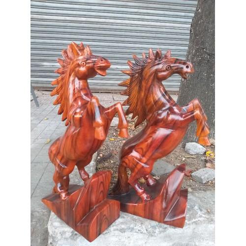 Cặp ngựa gỗ sơn huyết cao 67cm - 9016138 , 18674809 , 15_18674809 , 2350000 , Cap-ngua-go-son-huyet-cao-67cm-15_18674809 , sendo.vn , Cặp ngựa gỗ sơn huyết cao 67cm