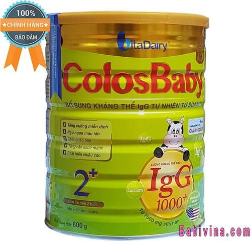 Sữa Non Colosbaby 2+ 800g - 8965281 , 18596489 , 15_18596489 , 495000 , Sua-Non-Colosbaby-2-800g-15_18596489 , sendo.vn , Sữa Non Colosbaby 2+ 800g