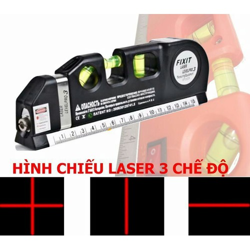 Thước Nivo, Căn Mực 4in1 Laser Level Pro 3- loại 1 - 8955428 , 18581370 , 15_18581370 , 112000 , Thuoc-Nivo-Can-Muc-4in1-Laser-Level-Pro-3-loai-1-15_18581370 , sendo.vn , Thước Nivo, Căn Mực 4in1 Laser Level Pro 3- loại 1